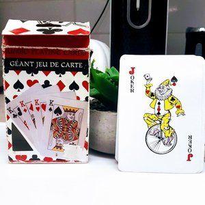 #T1 Jumbo Playing Cards